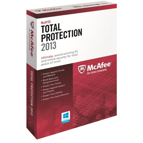 McAfee Total Protection 2013, Protect against