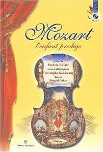 Mozart l'enfant prodige (1CD audio) par Konieczny