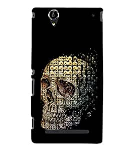 ifasho Designer Phone Back Case Cover Sony Xperia T2 Ultra :: Sony Xperia T2 Ultra Dual SIM D5322 :: Sony Xperia T2 Ultra XM50h ( Badminton and Tennis Pattern Design Print )