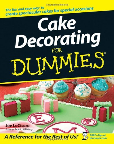 Cake Decorating Books New Zealand : Cake Decorating For Dummies   I Cook Different