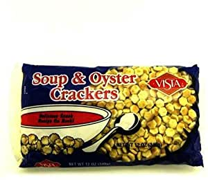 Vista Bagged Oyster Crackers Case Pack 12