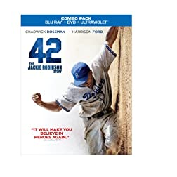 42 (Blu-ray/DVD + UltraViolet Digital Copy Combo Pack)