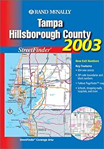Rand McNally 2003 Tampa Hillsborough County Streetfinder by Rand Mcnally