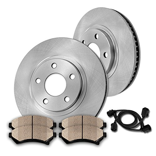 2 Front Brake Rotors /& Ceramic Pads Fits 2007 2008 2009 Kia Amanti 3.5L