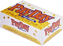 PAYDAY Peanut Caramel Bar (1.85-Ounce Bars, Pack of 24)