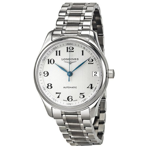 Longines Master Automatic Silver Dial Stainless Steel Mens Watch L2.665.4.78.6