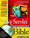 img - for Java Servlet Programming Bible book / textbook / text book