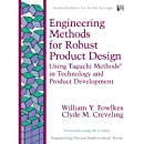 Engineering Methods for Robust Product Design: Using Taguchi Methods in Technology and Product Development (paperback) (Engineering Process Improvement Series)