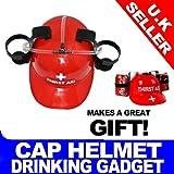 Red Thirst Aid Beer Helmet