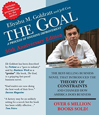 By Eliyahu M. Goldratt The Goal: A Process of Ongoing Improvement - 30th Aniversary Edition (Fourth Edition,Unabridged,Unabridge) [Audio CD]