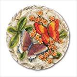 Gifts & Decor Butterfly Flower Garden Stepping Stone (Discontinued by Manufacturer)