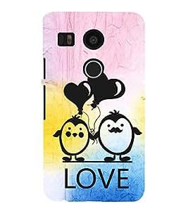 EPICCASE lovers pose Mobile Back Case Cover For LG Nexus 5x (Designer Case)