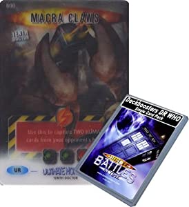 Doctor Who - Single Card : Ultimate Monsters 200 (800) Macra Claws Dr Who Battles in Time Ultra Rare Card