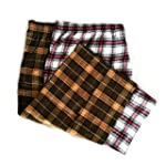 Men's Plaid Cotton Pajama Bottoms Sle...