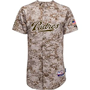 Majestic Athletic San Diego Padres Authentic 2014 Alternate Camo Cool Base Jerse by Majestic