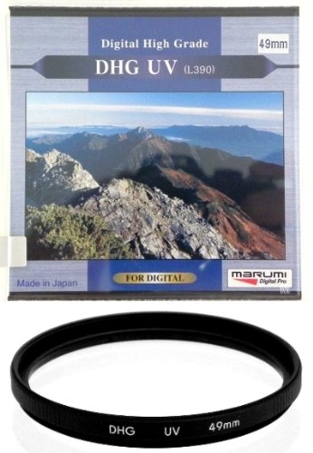 Marumi 49mm 49 DHG Digital High Grade Filter UV L390 MC MCUV Multi-Coated JAPAN