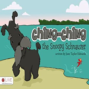 Ching-Ching the Snoopy Schnauzer | [Jane Taylor Edwards]