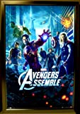Silver Light Box Display for Movie Posters 24 x 36 Inch in Silver, LED Movie Poster Display Frame
