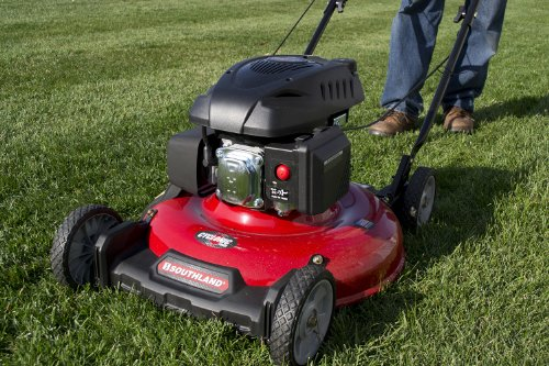 Southland SM2110 139cc Push Lawn Mower with OHV Engine, 21-Inch image