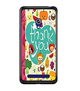 PrintDhaba Quote D-4982 Back Case Cover for ASUS ZENFONE 5 A501CG (Multi-Coloured)