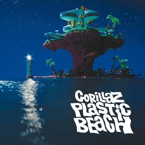 Plastic Beach (CD/DVD) by Gorillaz album cover