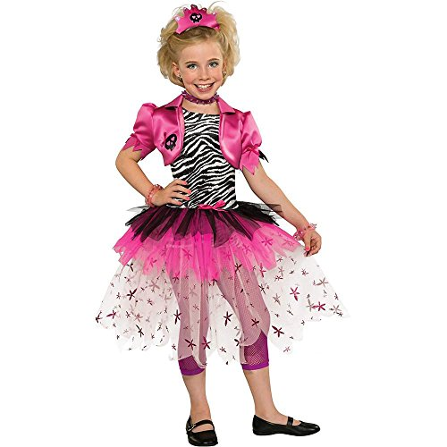 80s Pink Punk Princess Kids Costume