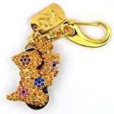 Colorful Gold 2 animals 8GB Crystals USB 2.0 Flash Memory Pen Drive Pendant for Keychain