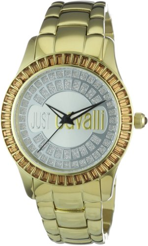 Just Cavalli Ladies Ice Analogue Watch R7253169015 with Quartz Movement, Stainless Steel Bracelet and Silver Dial