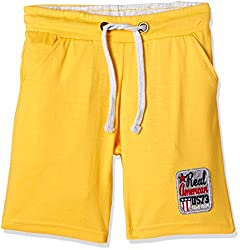 Cherokee Boys' Shorts (267977646_Yellow_5 - 6 years)