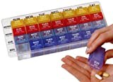 Ezy Dose 4 a Day Weekly Med-control Tray