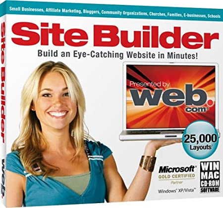 Site Builder (Jewel Case)