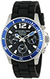 "Stuhrling Original Mens 805R.SET.01 Aquadiver Regatta ""Endurance"" Watch Set with Two Interchangeable Straps"