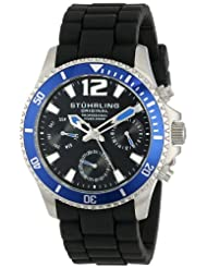 Sports & Outdoors - Stuhrling Original Men's 805R.SET.01 Aquadiver Regatta