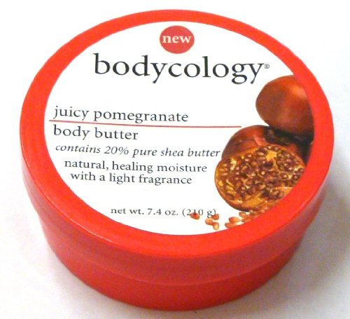 Bodycology Juicy Pomegranate Body Butter, 7.4 Oz (Pack Of 2)