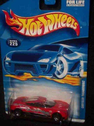 #2000-225 Chrysler Thunderbolt Thailand Collectible Collector Car Mattel Hot Wheels - 1