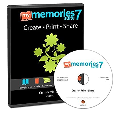 MyMemories Suite 7 Digital Scrapbooking Software [Mac and PC]