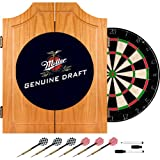 Miller Genuine Draft Dart Cabinet Includes Darts And Board