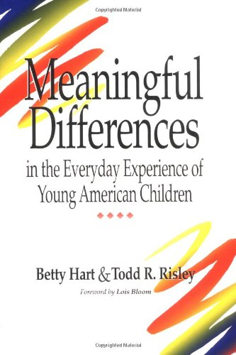 Meaningful Differences in the Everyday Experience of...