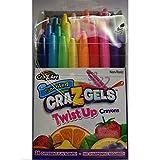 Cra-Z-Art CRA-Z-Gels Scented Twist-Up Crayons - 24 Count
