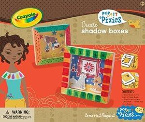 Crayola Pop Art Pixies Shadow Boxes