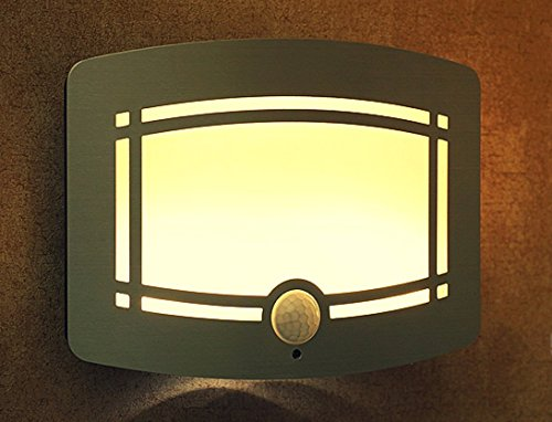 Wireless Led Wall Light With Motion Sensing For Pathway, Staircase