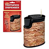 Accoutrements Bacon Toothpicks with Dispenser