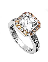 Sterling Silver Cubic Zirconia Ring promo code 2015