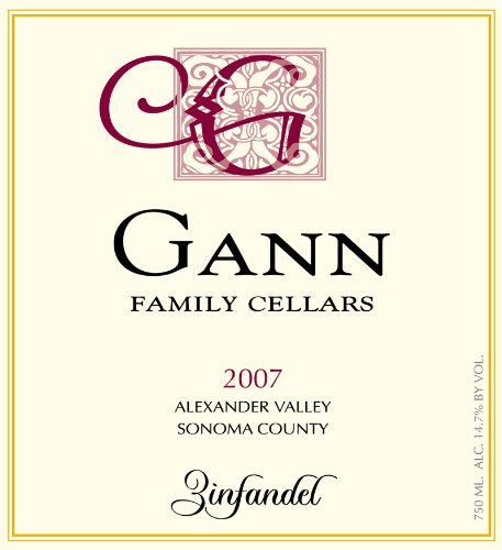 2007 Gann Family Cellars Zinfandel 750 Ml