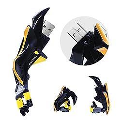 Quace 16 GB Transformers Bumble Bee Fist Fancy USB Pen Drive