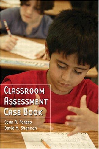 Classroom Assessment Casebook