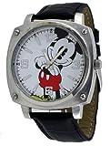 Disney #MCK992 Men's Mickey Mouse black Strap Analog Watch