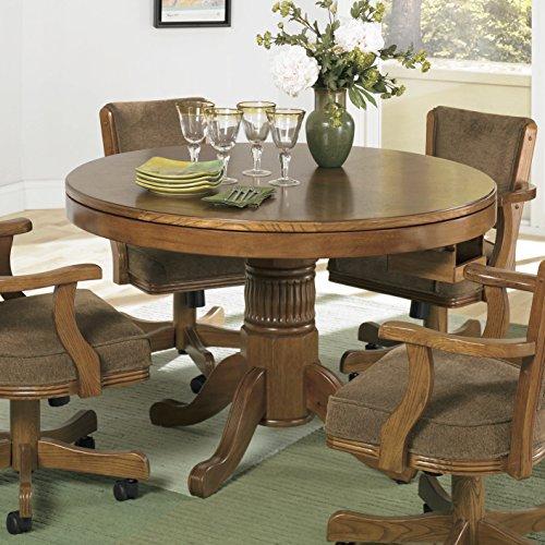 Coaster Home Furnishings Game Table, Oak