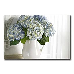 So Crazy Art Wall Art Painting Hydrangea In White Vase Pictures Prints On Canvas Flower The Picture Decor Oil For Home Modern Decoration Print For Girls Room
