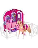 Barbie - L'Ecurie de Barbie et ses Soeurs - Cheval et Stalle